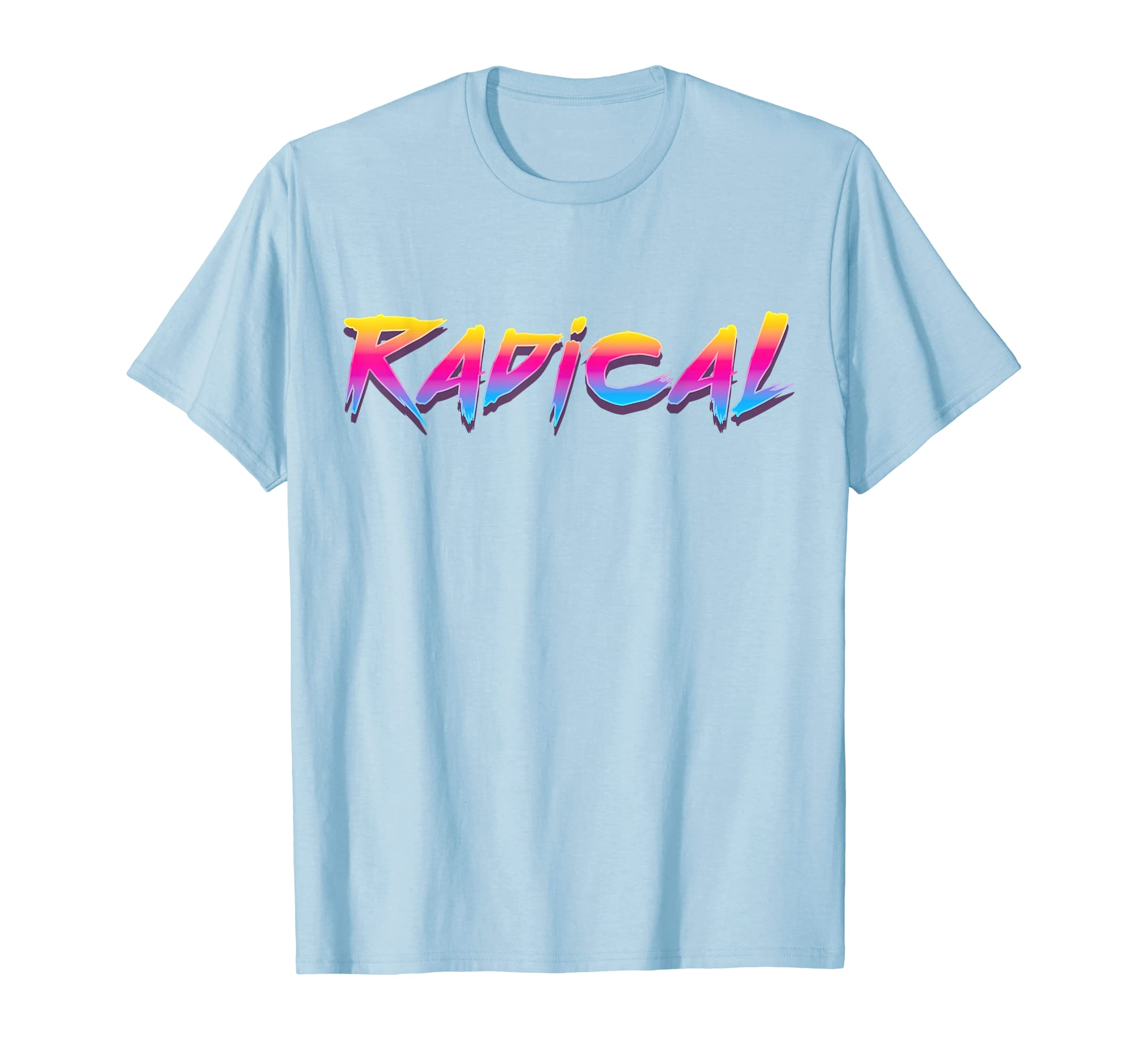 Radical Retro 80s 90s Vintage Look T-Shirt: Outrun Synthwave-Loveshirt