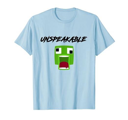 Amazon com: Fan Unspeakable T-Shirt: Clothing