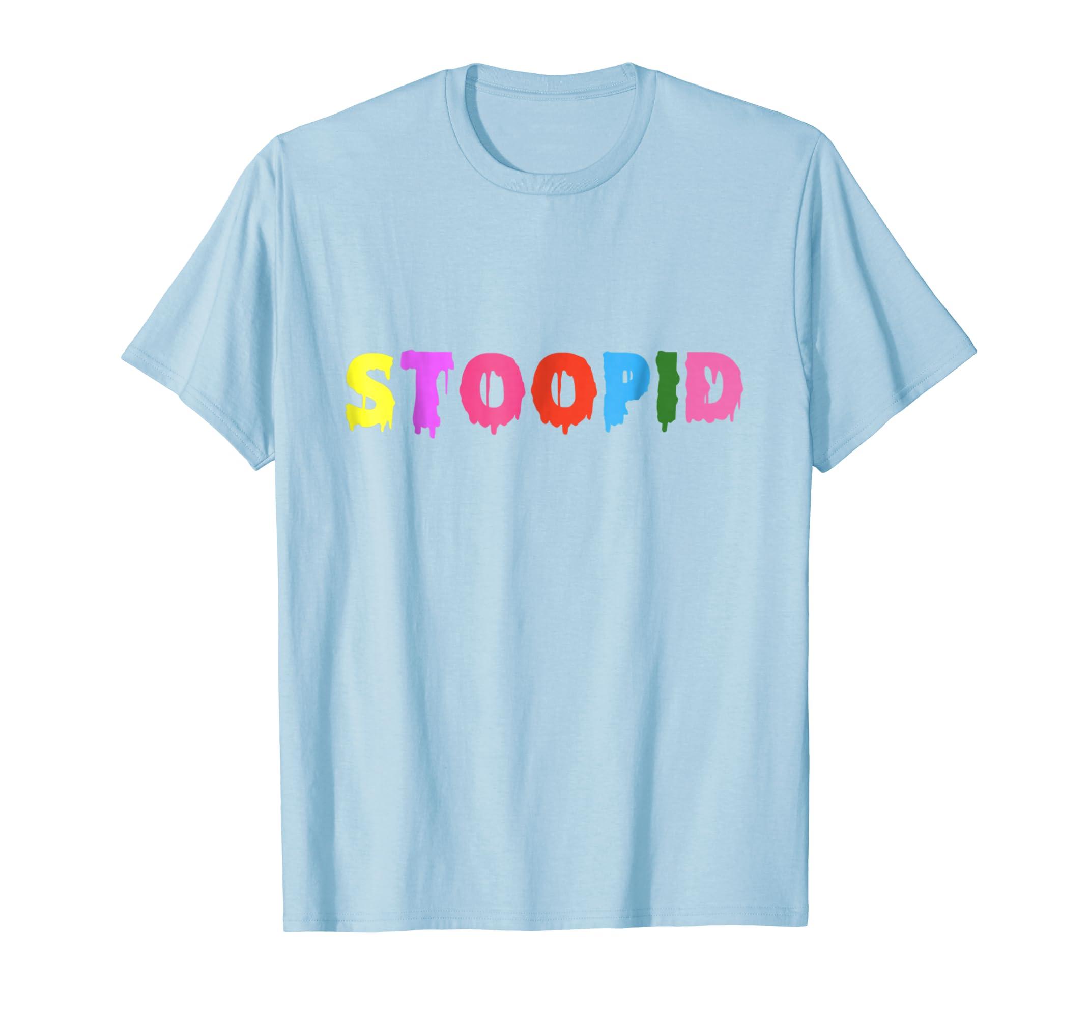 Stoopid 6IX9INE Color Rainbow T Shirt Rap Music-Teechatpro