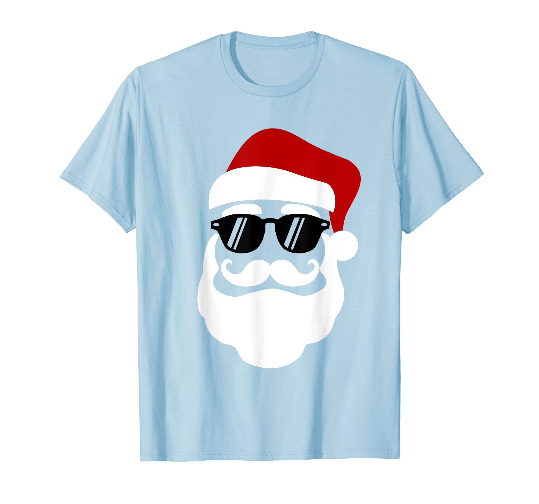 d5a35702770 Amazon.com  Hipster Santa Claus With Sunglasses Funny Gift for Christmas   Clothing