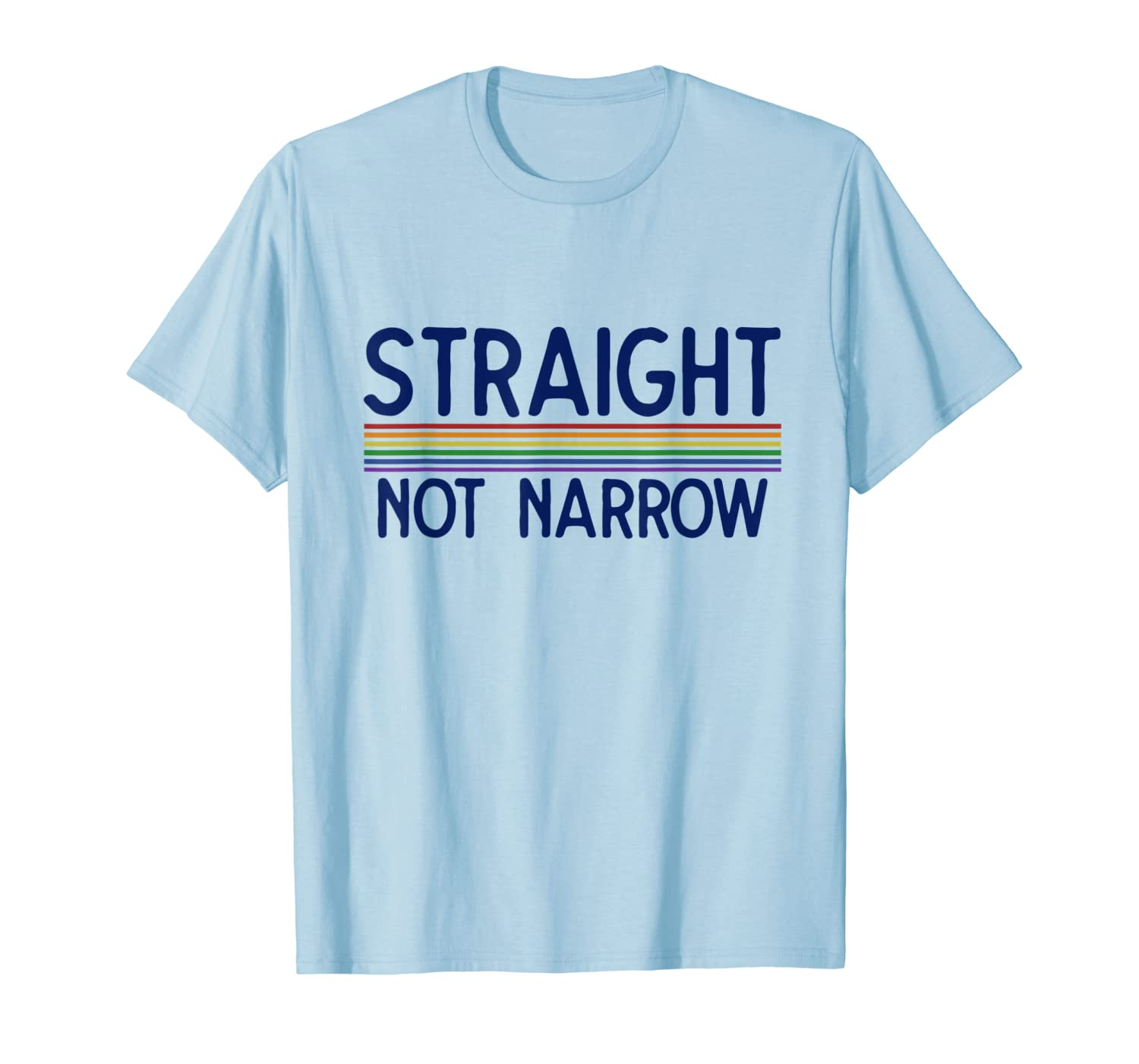 Straight not Narrow Ally Retro T-Shirt-Loveshirt