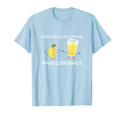 a681db66a6417 Amazon.com: Children Day T-shirt Life Gives Lemons Make Lemonade Kid ...