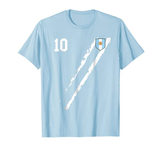 Team Argentina Soccer Futbol football Jersey T-Shirt
