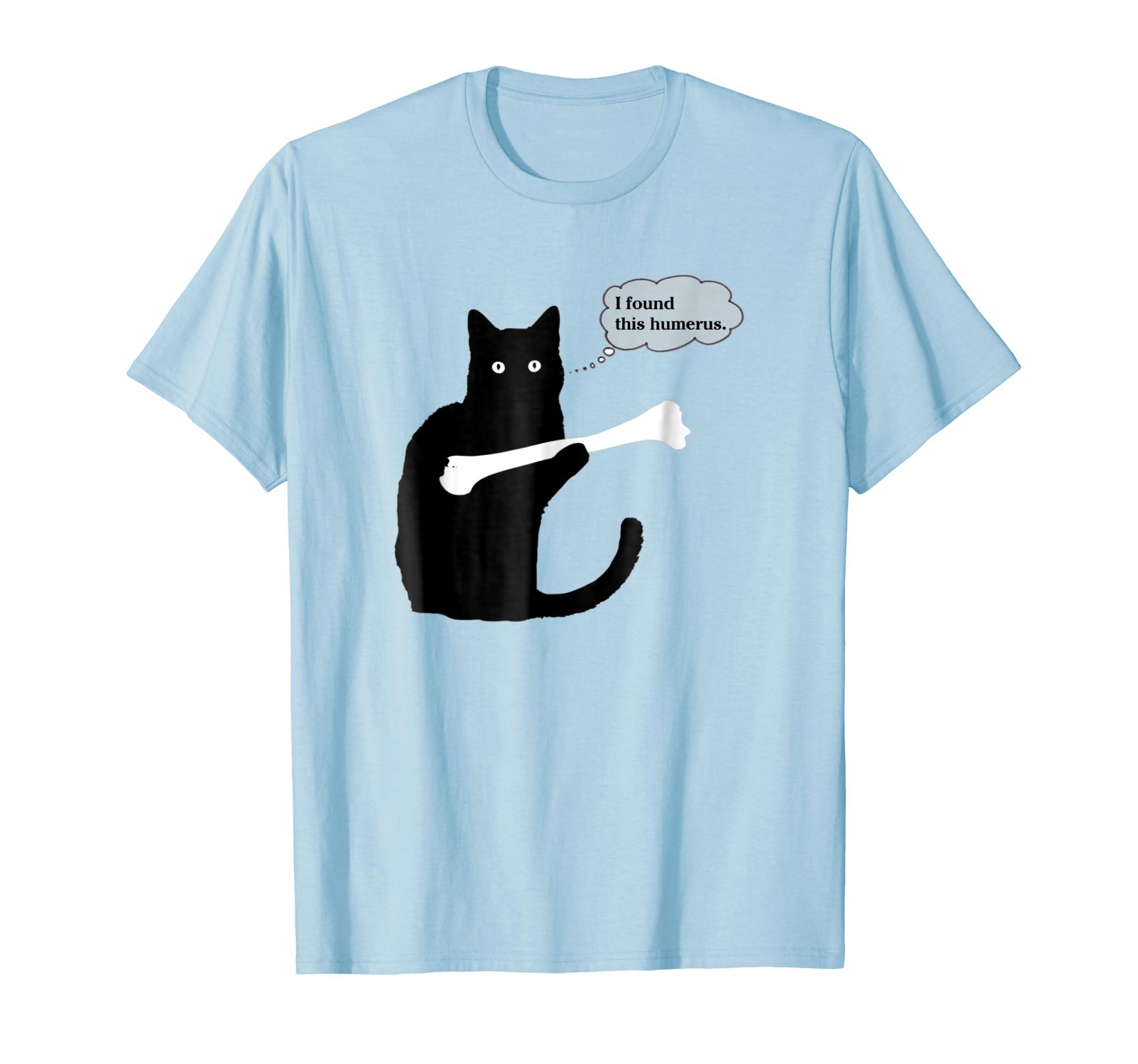 7701270c9 I Found This Humerus Cats Humorous T Shirt-Colonhue – Colonhue.com