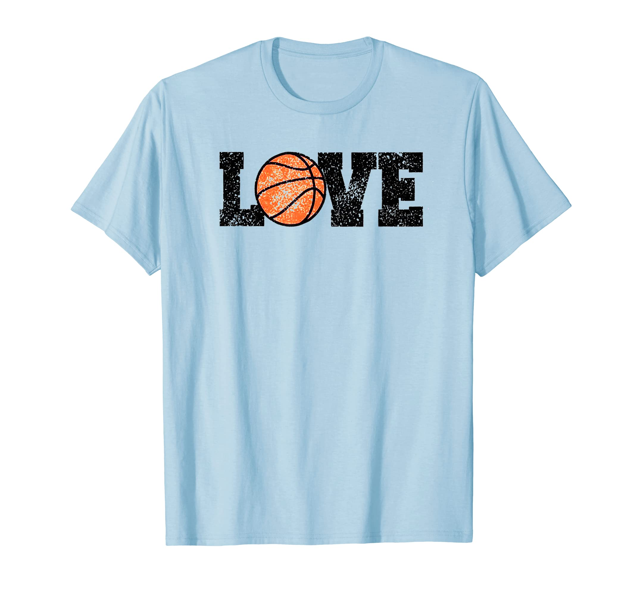 1befaaa753b74 Amazon.com: I Love Basketball T-Shirt Basketball Lover Gift Tees ...