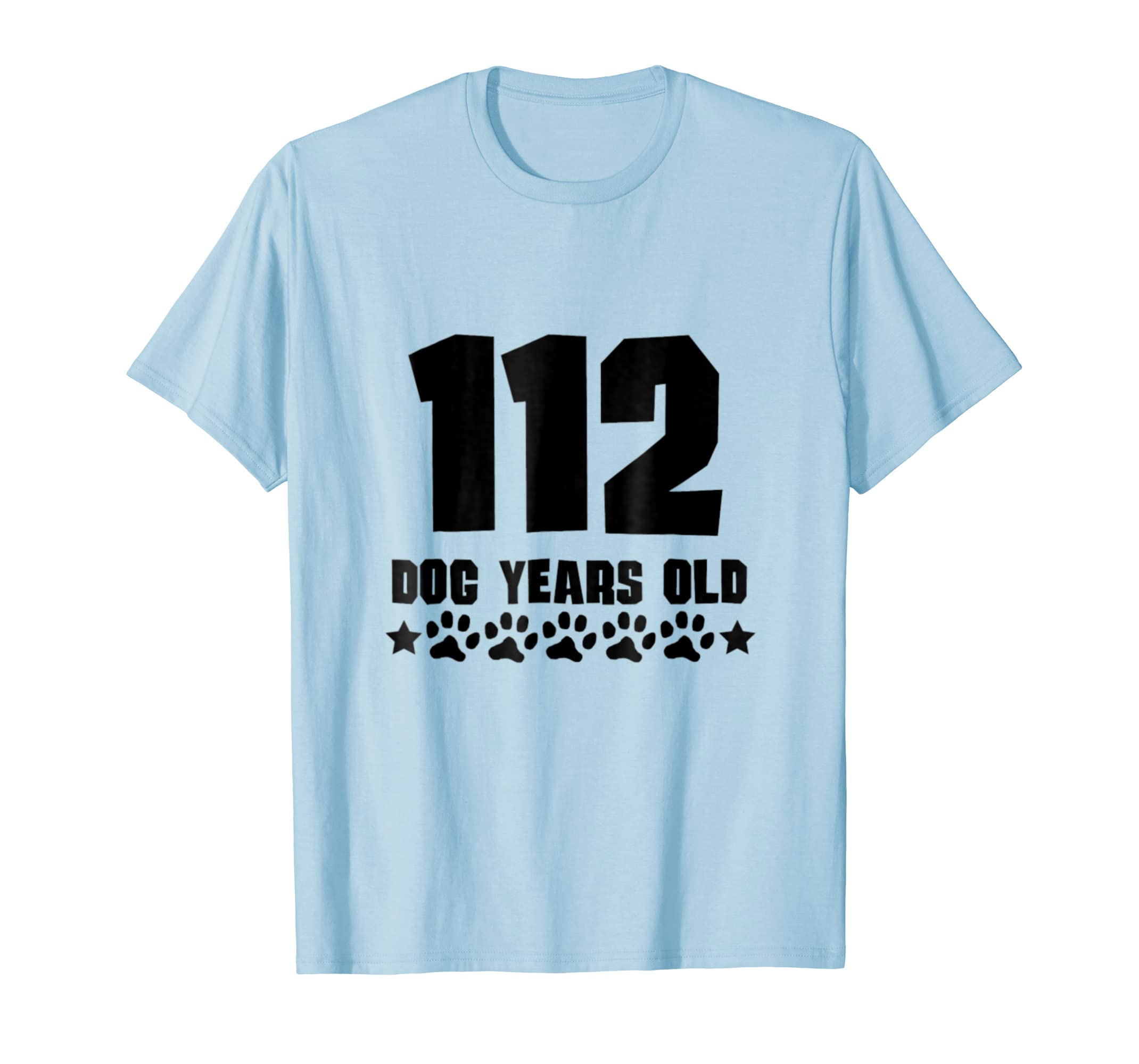 112 Dog Years Old Funny 16th Birthday T Shirt-AZP
