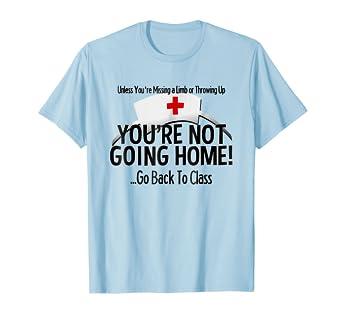 47870393e4534 Amazon.com: School Nurse T Shirt Medical Nursing Appreciation Gift Tee:  Clothing