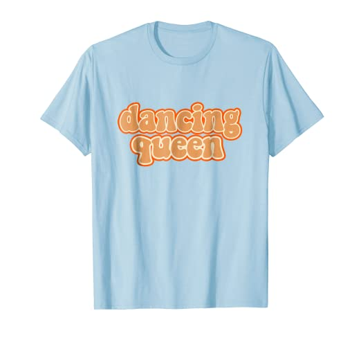 7c887aeb Image Unavailable. Image not available for. Color: Dancing Queen Shirt  Vintage Dancing 70s T-Shirt