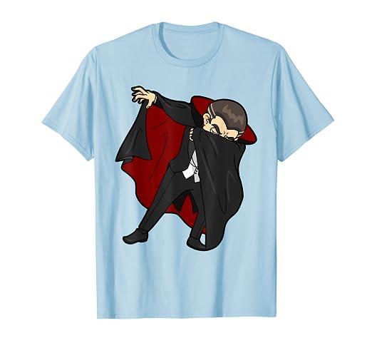 64939636 Image Unavailable. Image not available for. Color: Dabbing Dracula! Shirt -  Dab! Funny Halloween Dabbin Vampire