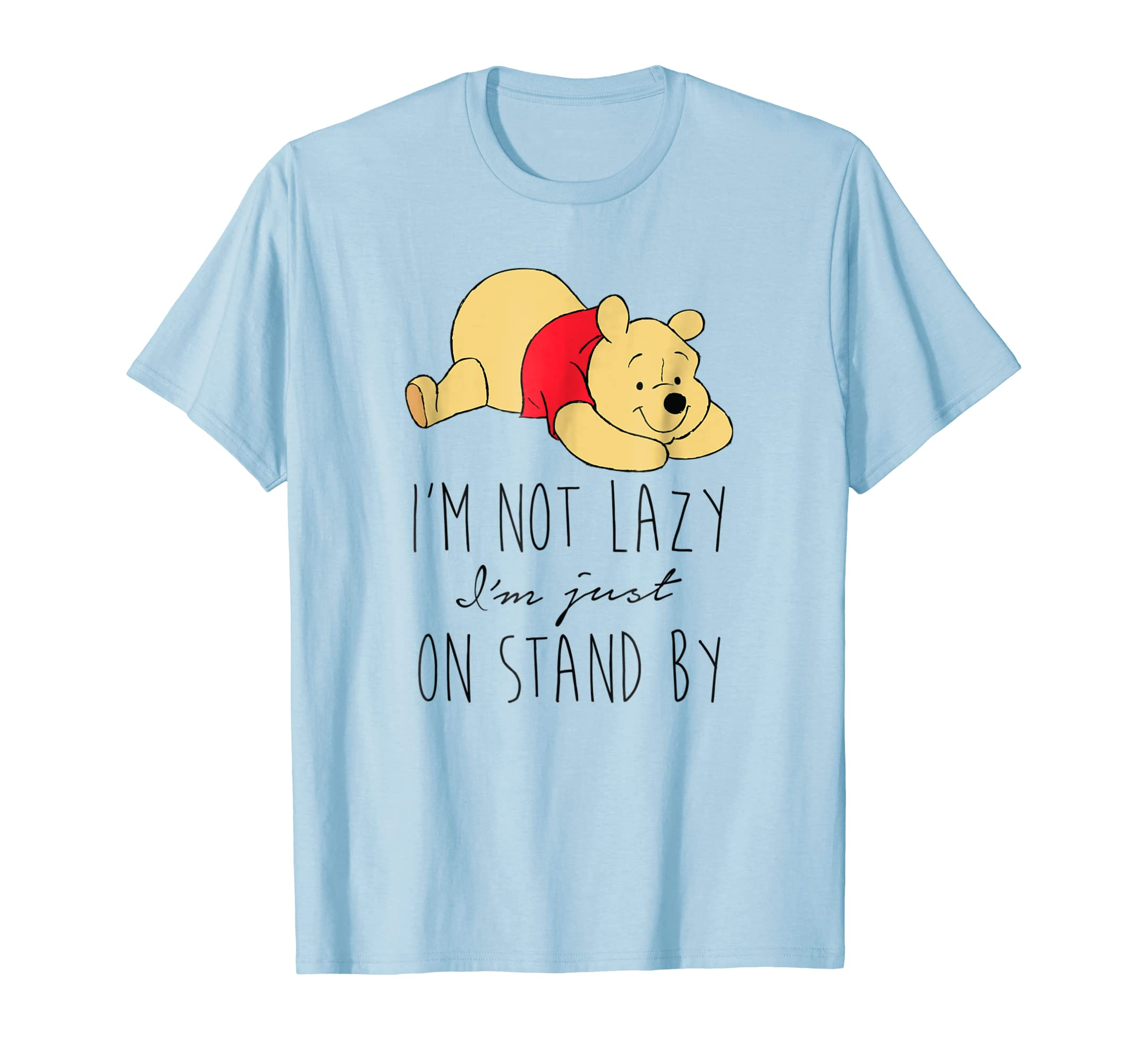 9de6f1cee937 Amazon.com  Disney Lazy Winnie the Pooh T Shirt  Clothing
