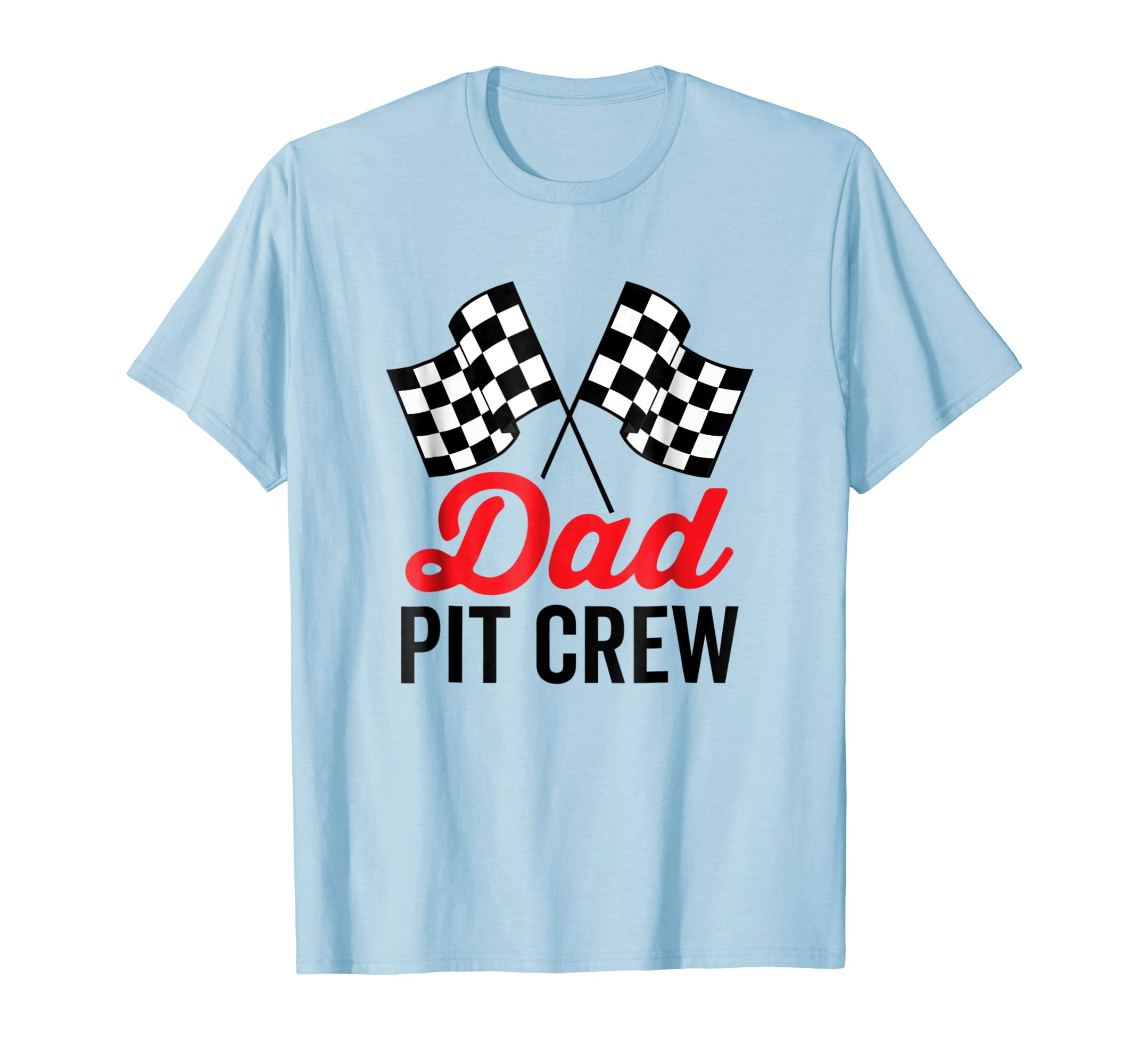 Dad Pit Crew Shirt for Racing Party Costume-azvn