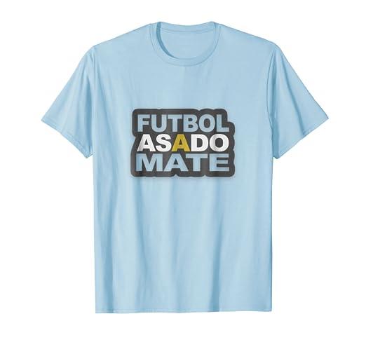 Funny Argentina Tshirt Futbol Asado Mate T-shirt