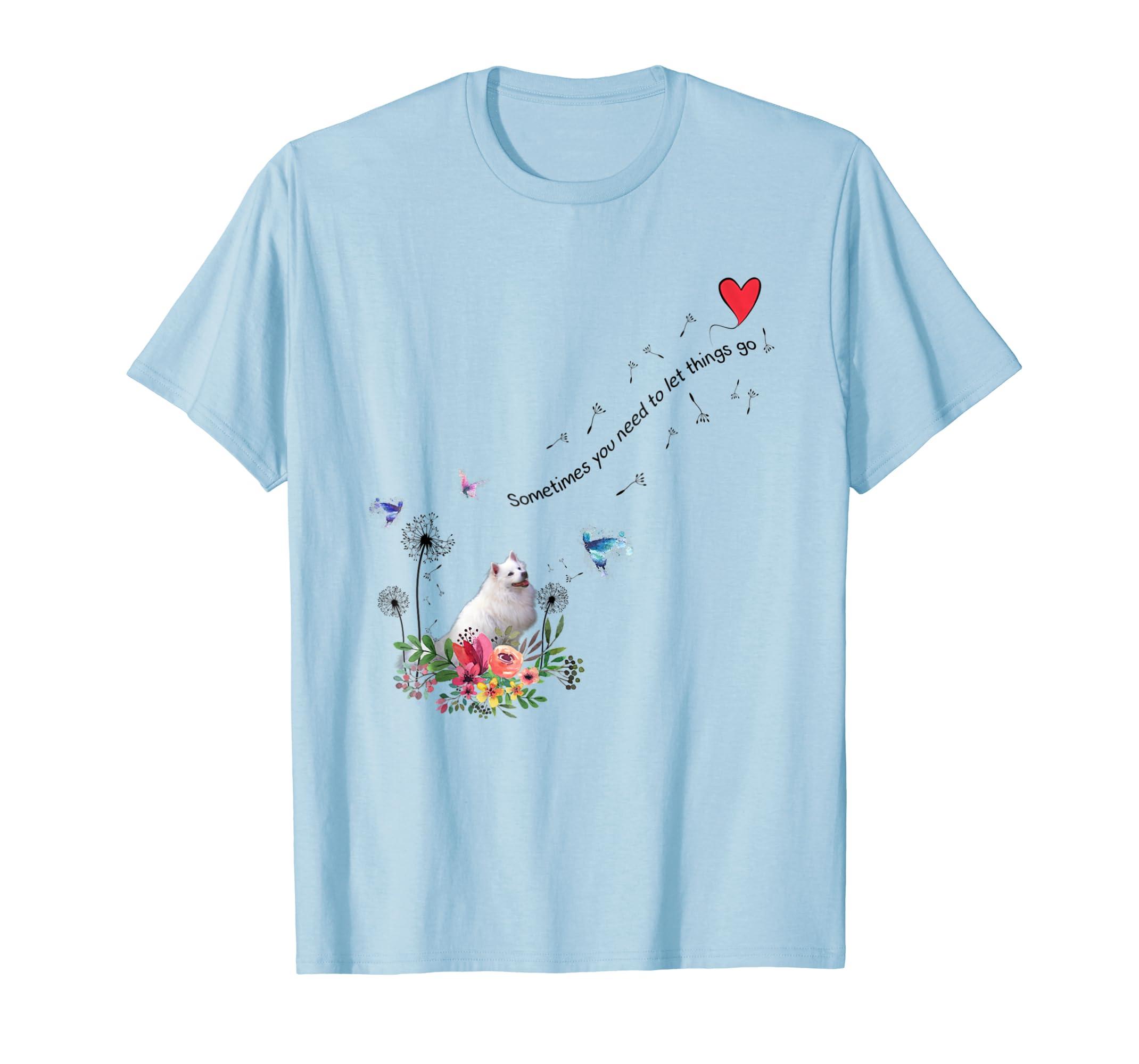 American Eskimo Dog T Shirt Gift For Dog Lover, Mom, Dad, Ki-ln