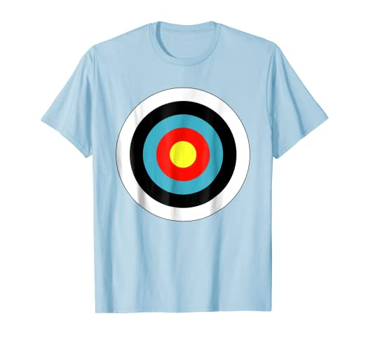 5f2a035a13 Image Unavailable. Image not available for. Color: Bullseye Body Target  Archery Shooter Funny Tee Shirt