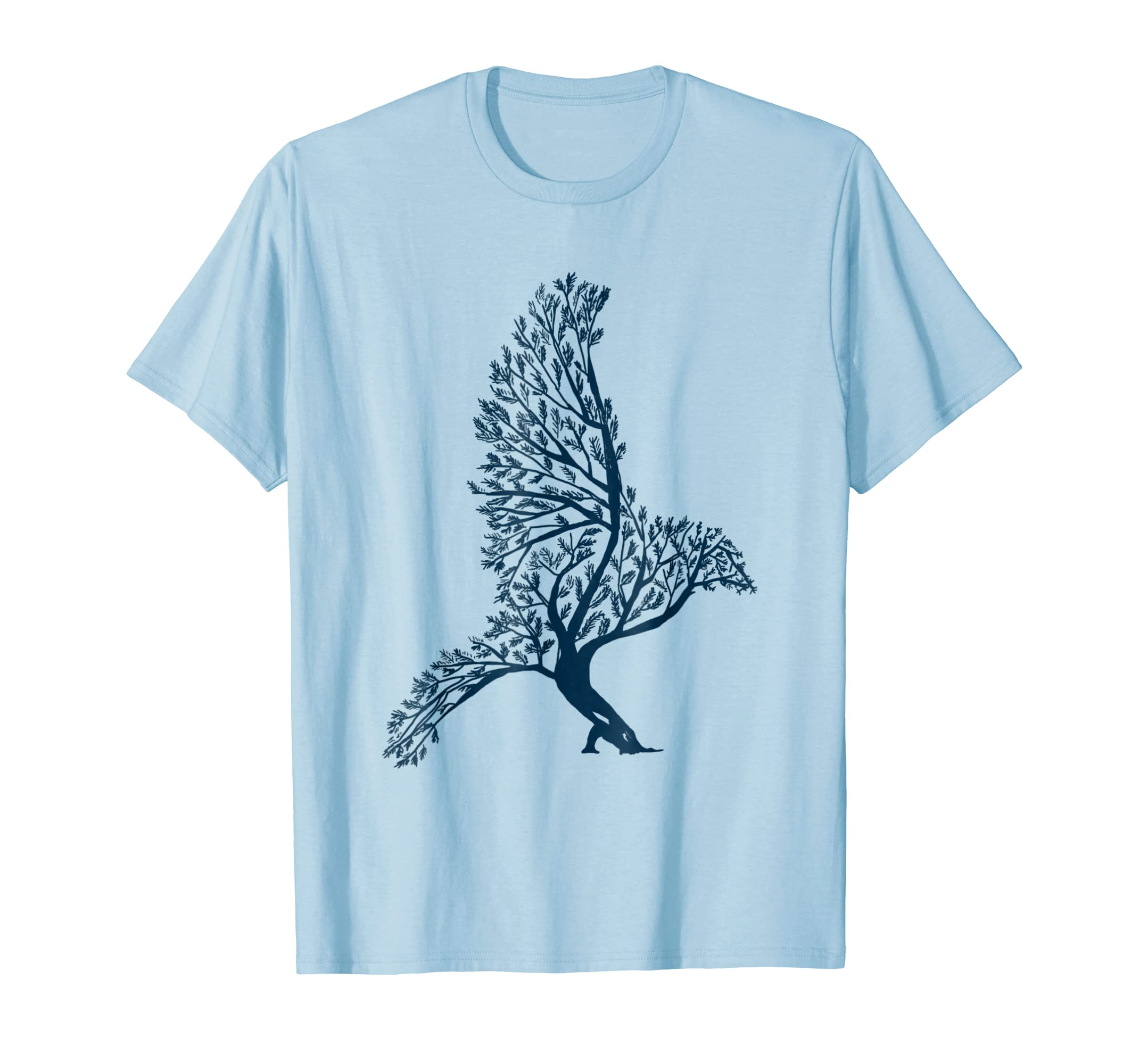 Bird Shirt Bonsai Tree Bird Nature Wild Cool Gift T shirt-azvn