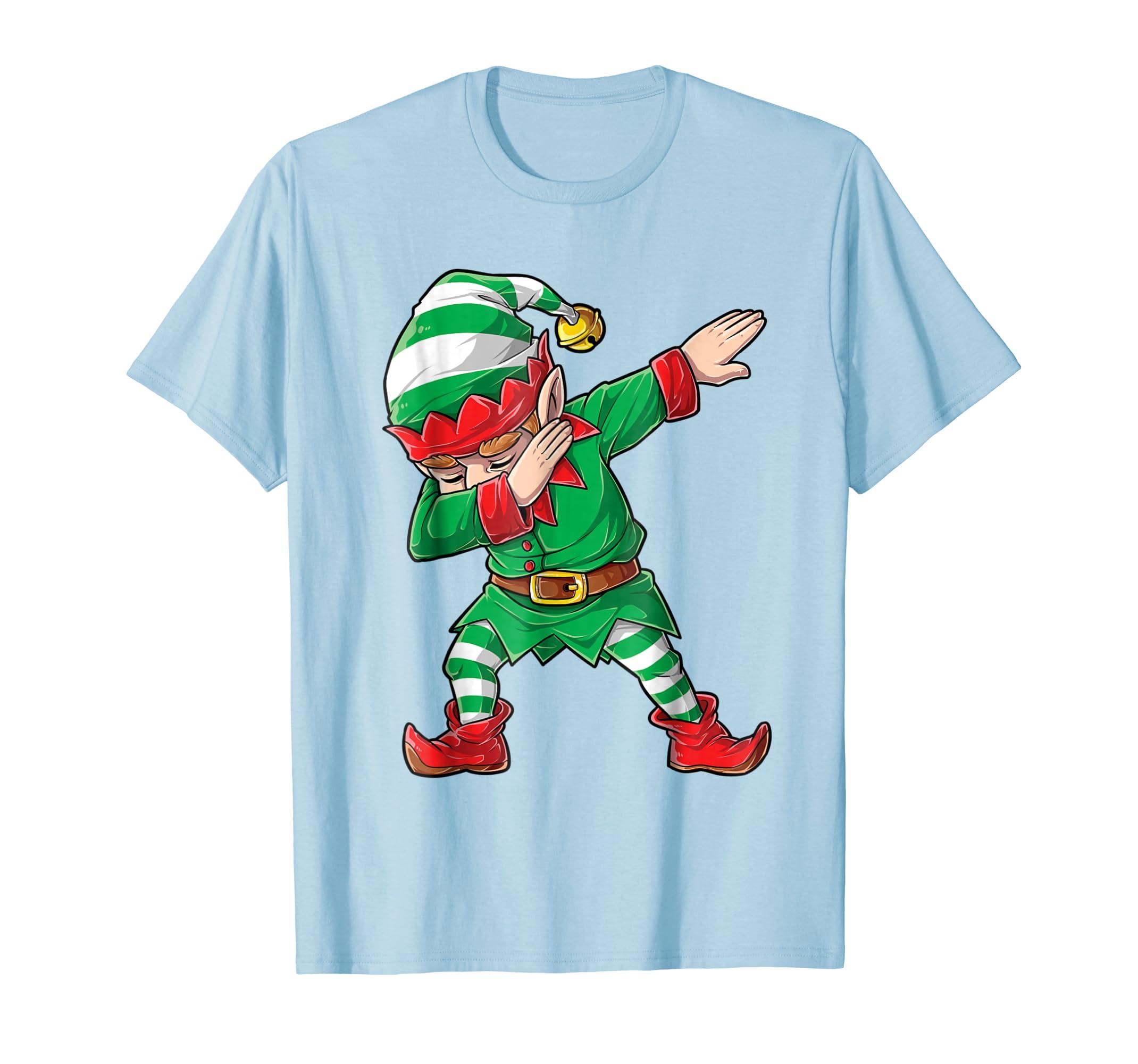 bf99f3ab0210 ... Christmas Dabbing Elf Squad T Shirt Family Matching Men Boys Christmas  Shirts by Lique ...