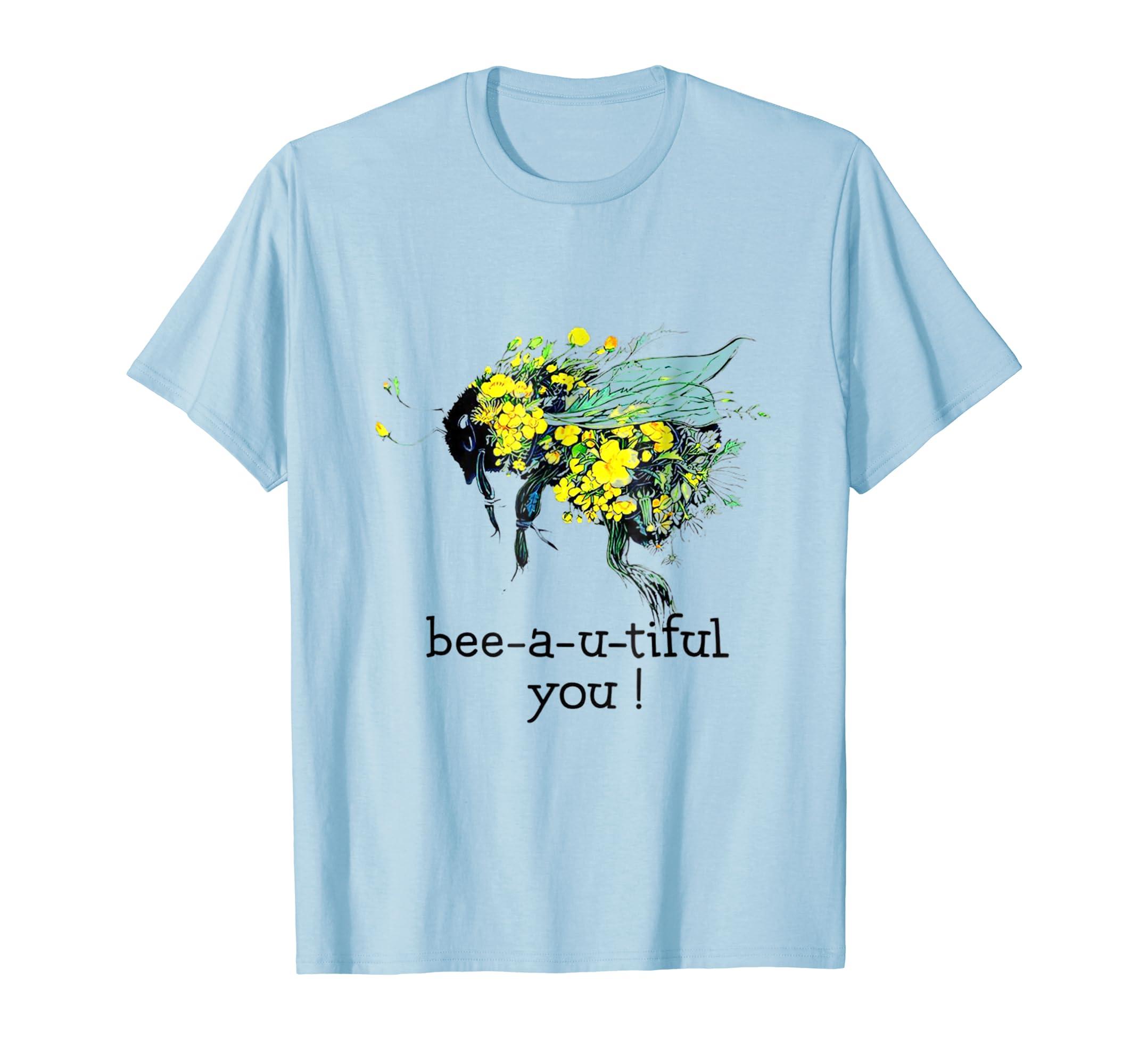 Bee a u tiful You Peace Tshirt Hot-Teesml