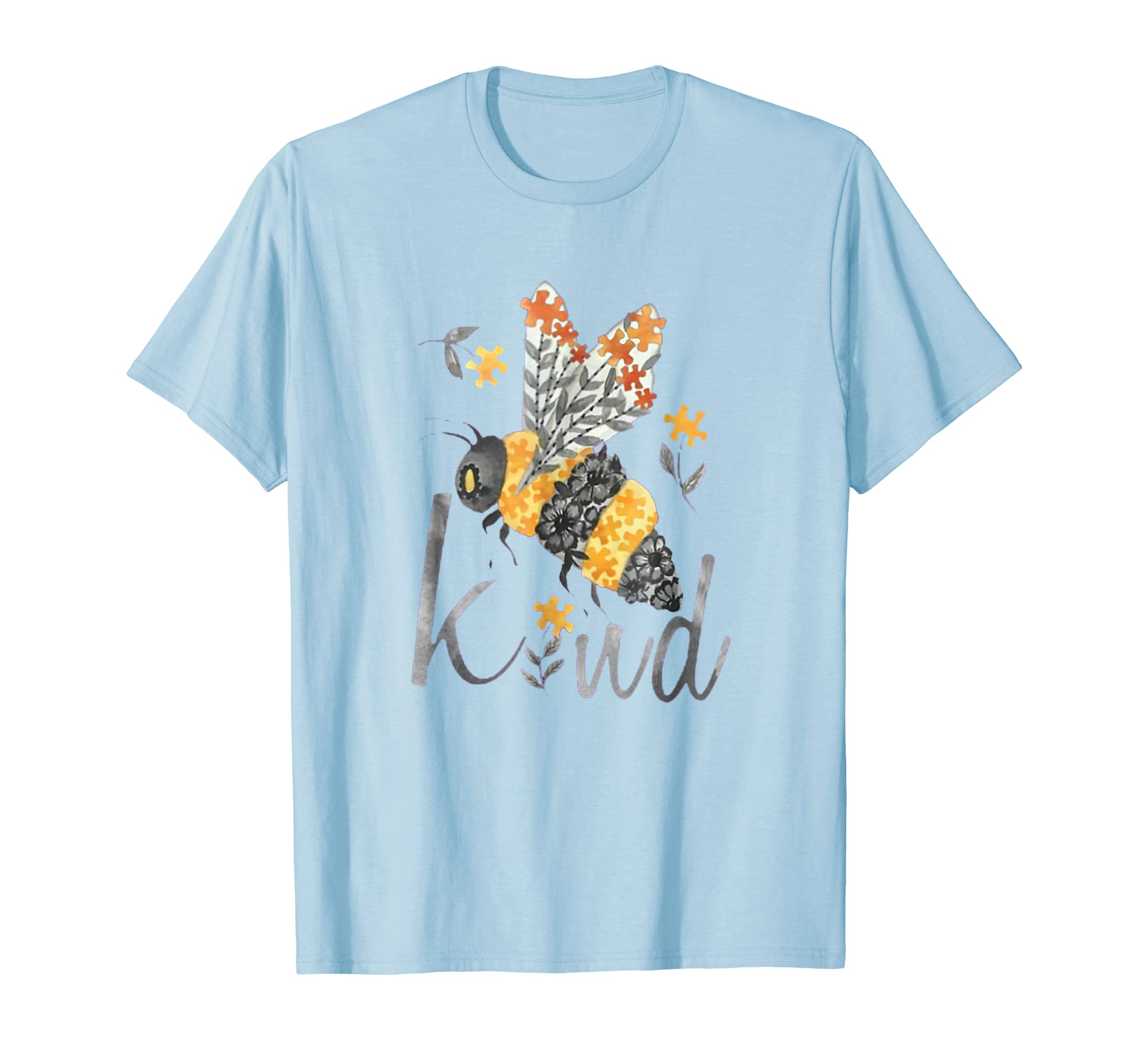 Bee Kind Autism Awareness Shirt-azvn