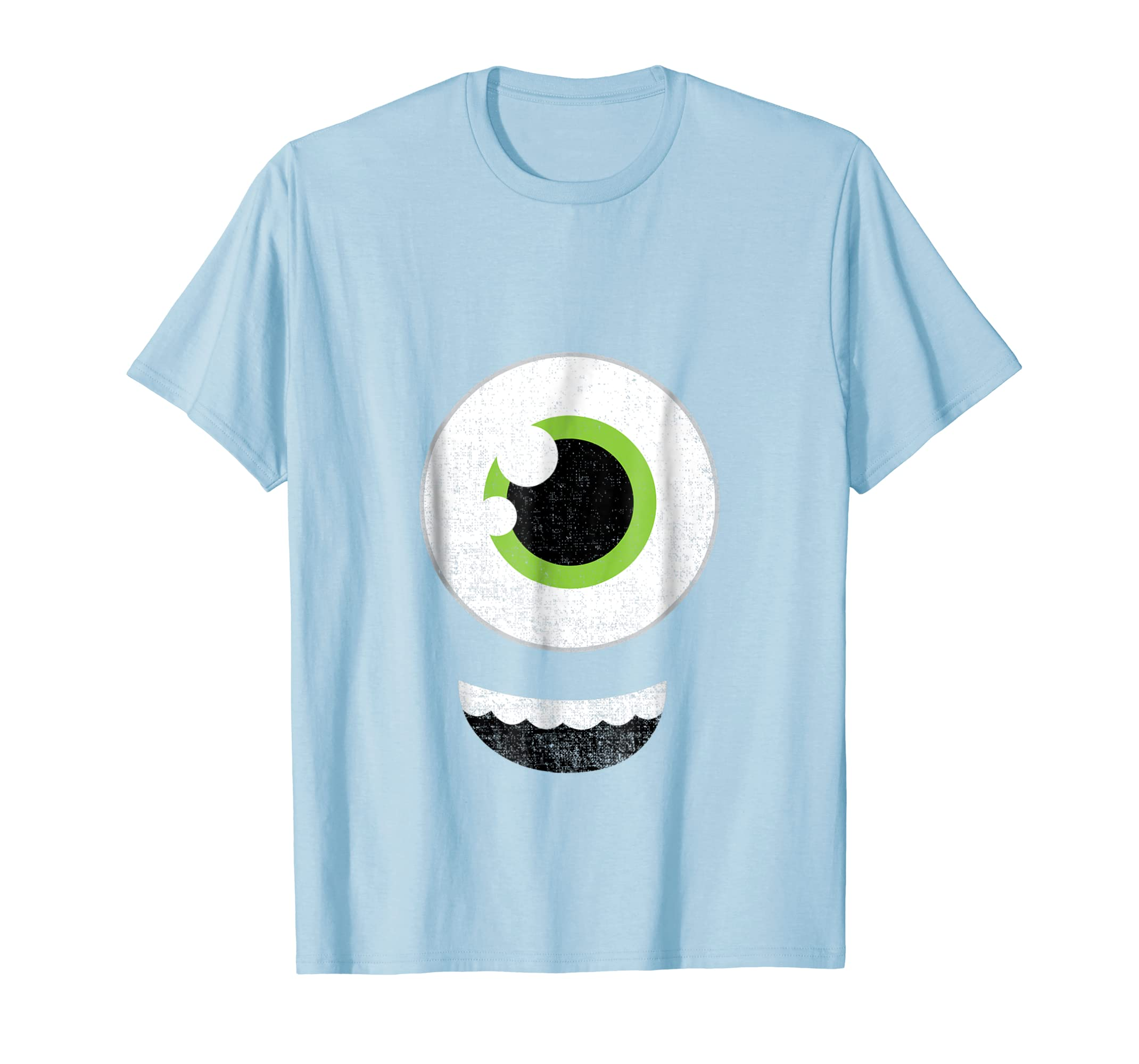 One Eyed Monster Emojis Shirt Halloween Easy Costume Face-Bawle