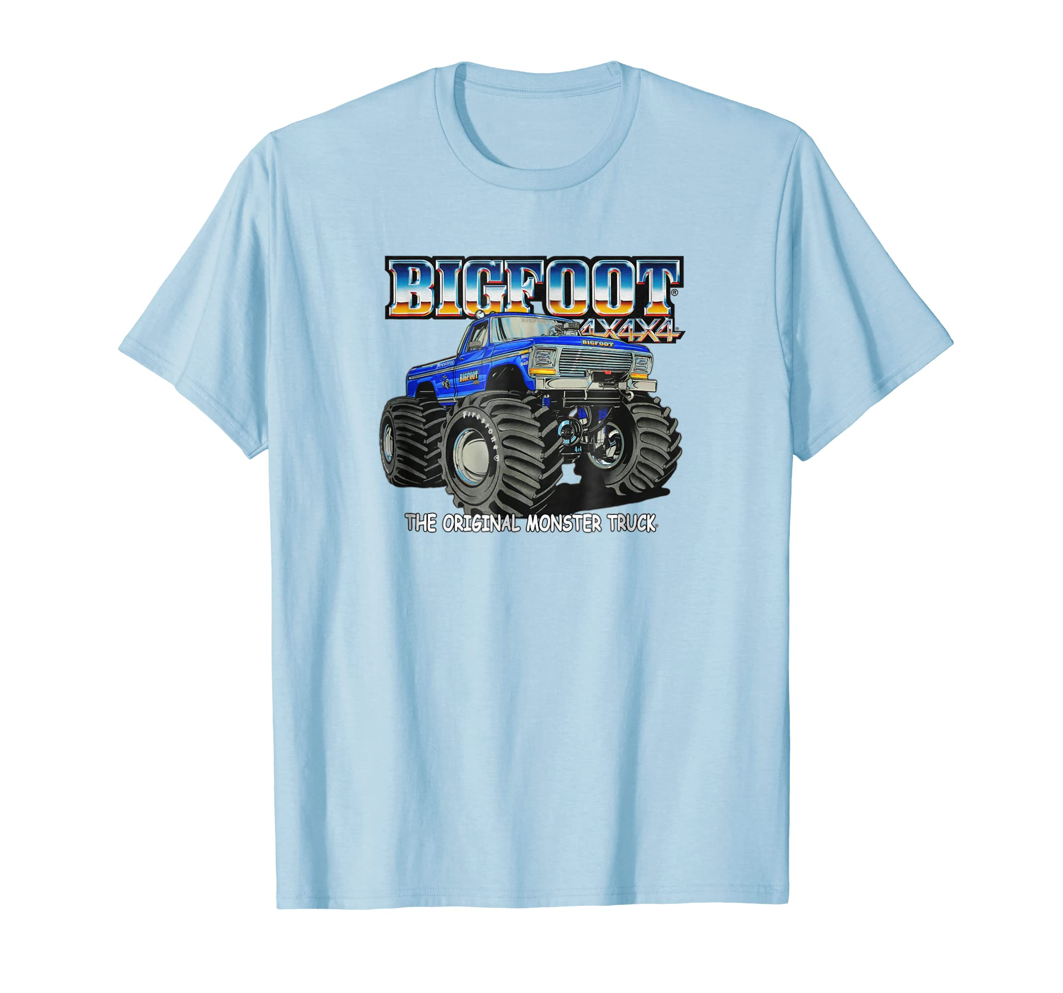 BIGFOOT #1 The Original Monster Truck T Shirt (Color Opts 2)-azvn