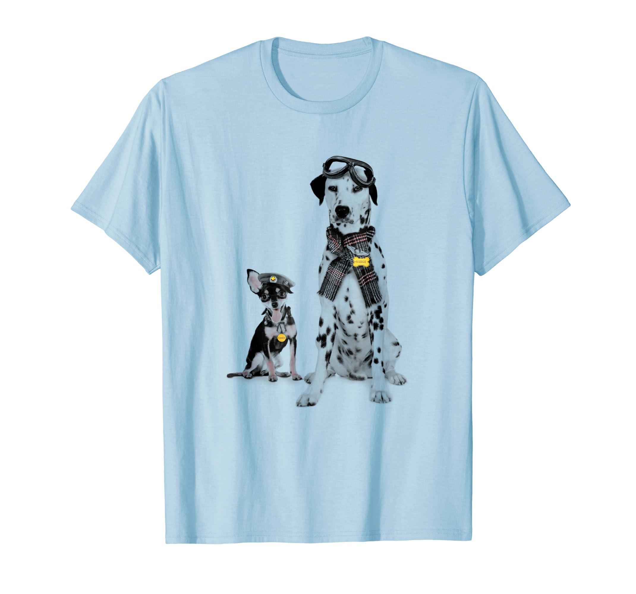 Funny Dog Shirt - Cute Pilot Dogs Flying Squad T-Shirt-AZP