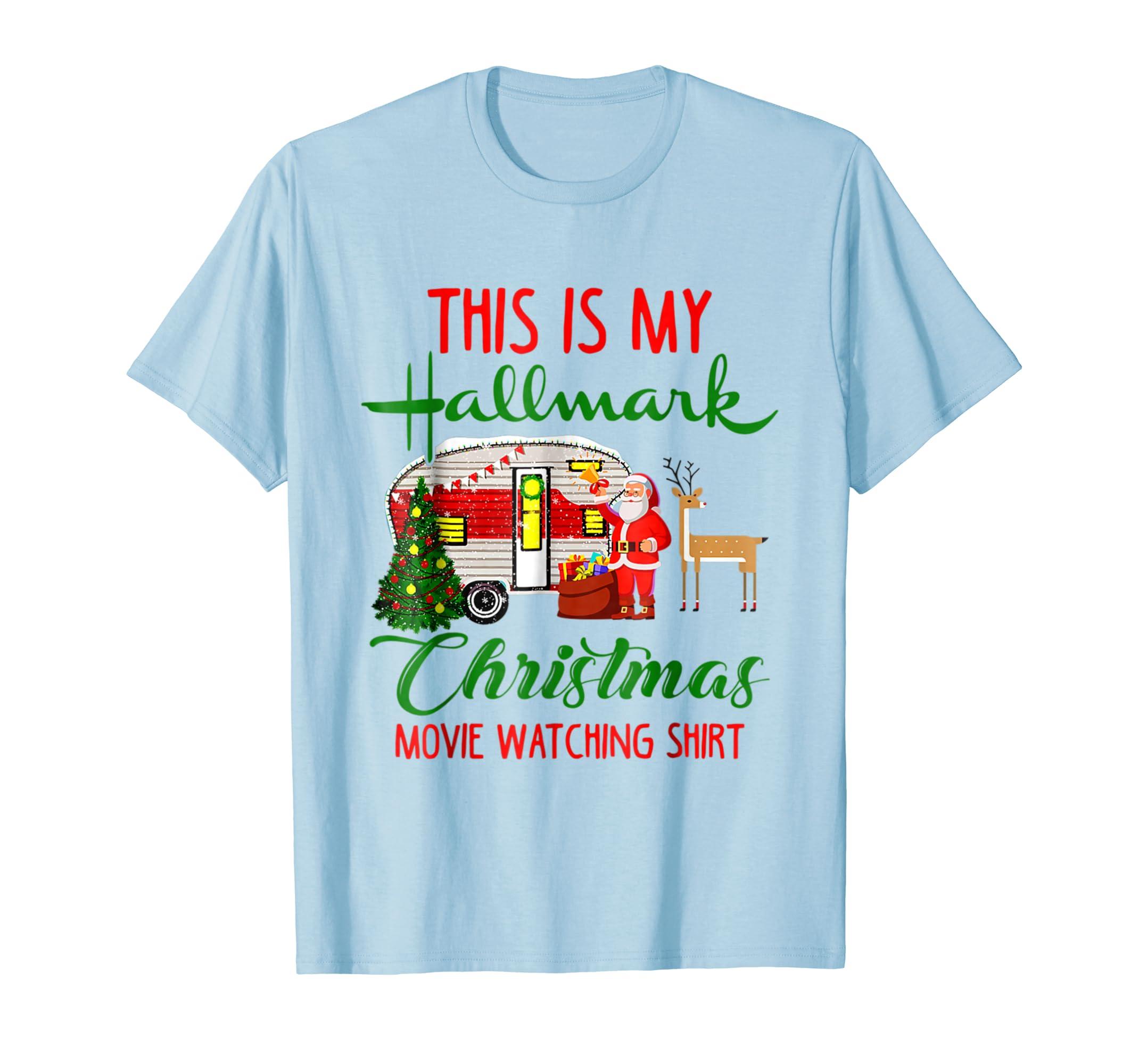 ? 1This is my Hallmark Chirtmas Movie Watching Tshirt?-azvn