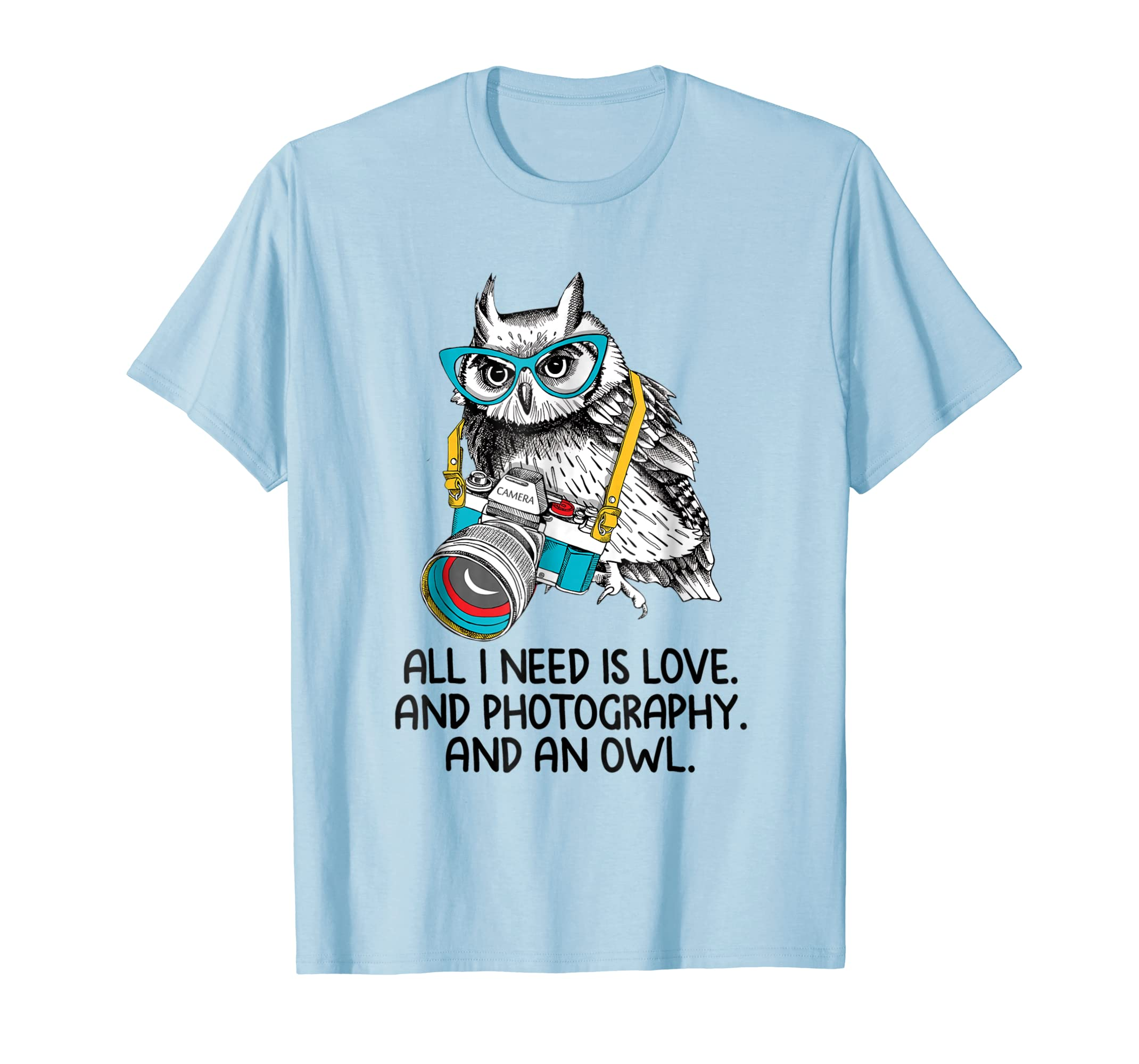All I need is love.and photography.and an owl tee-ln