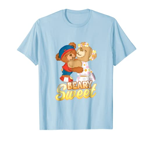 64133d59f Amazon.com  Beary Sweet Bear Funny Cute Toddler Baby Love T-shirt ...
