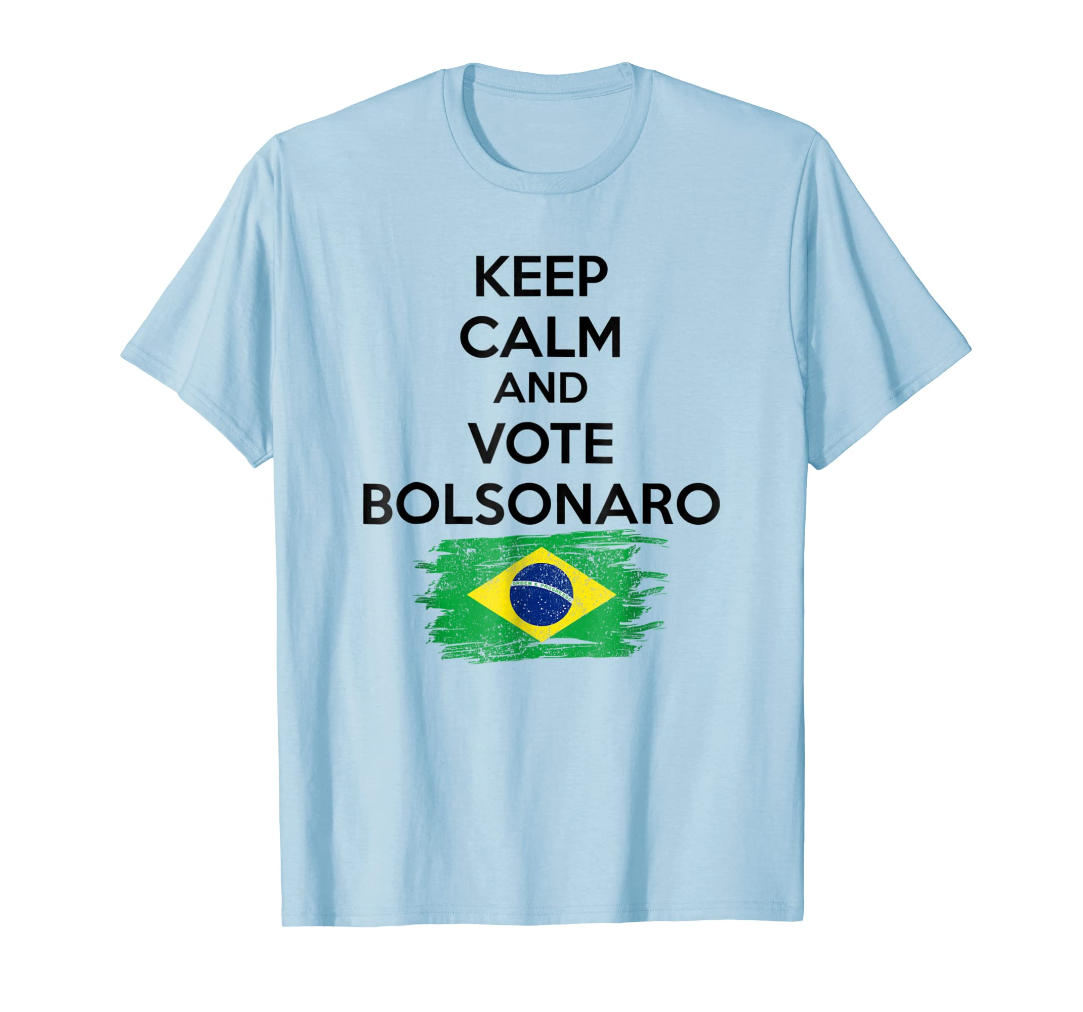 Bolsonaro Presidente 2018, Brazilian Election T Shirt-ln
