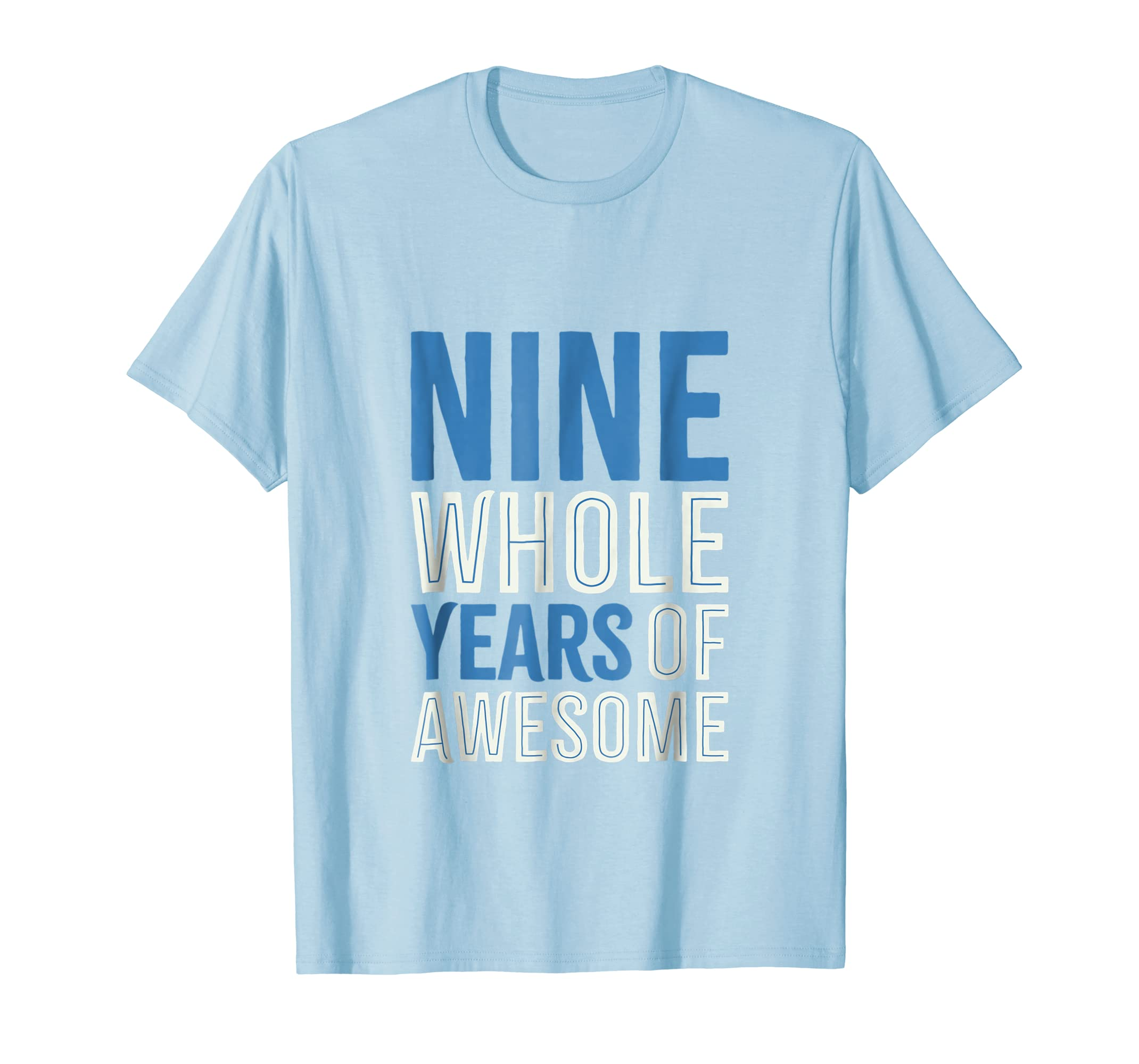 9th Birthday Shirt Gift Boy Age 9 Nine Year Old Boys Tshirt Teechatpro