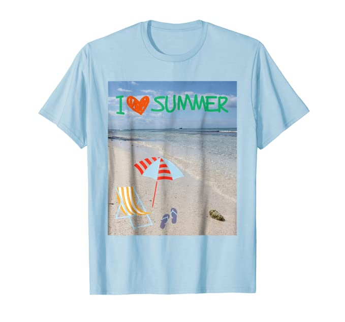 I love Summer T-Shirt by Christine aka stine1 - image created with Fotor.com