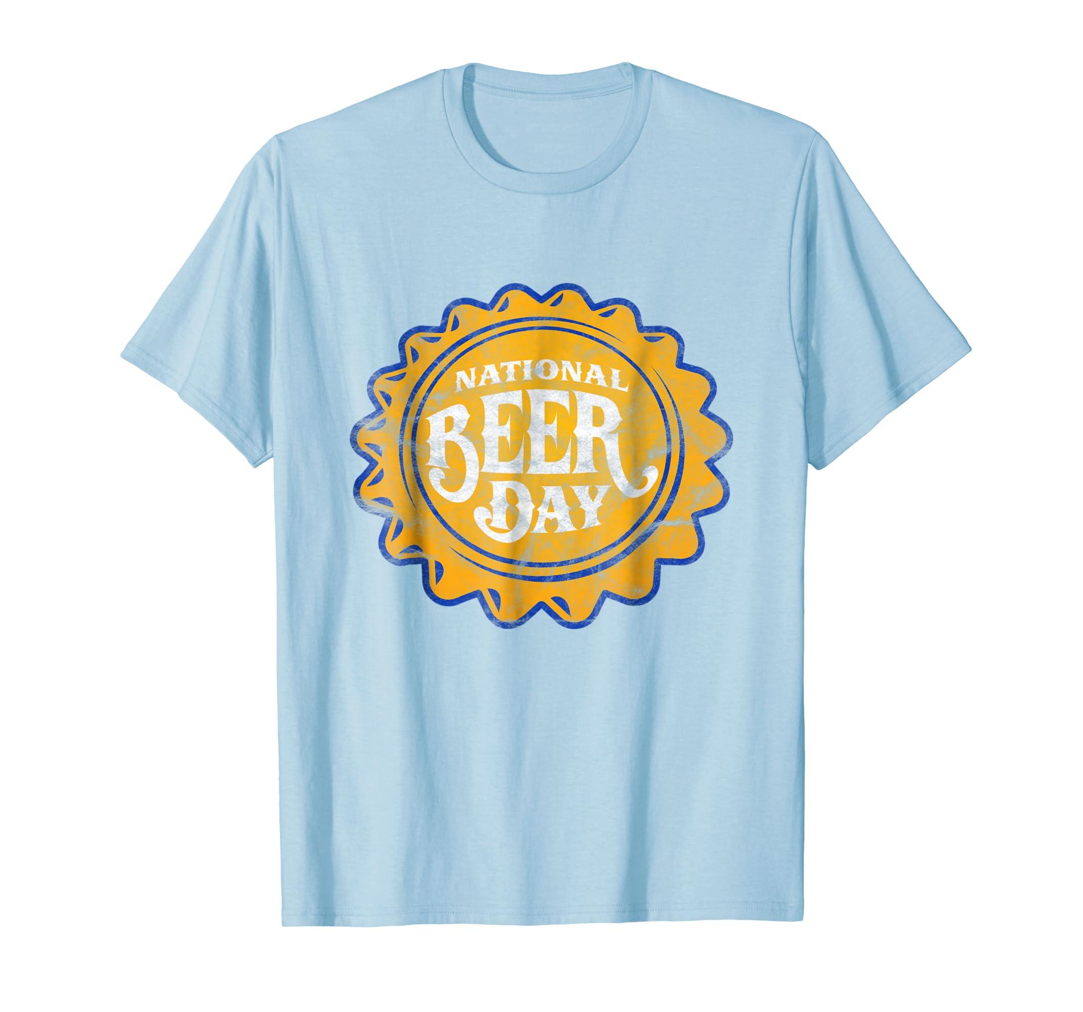 'National Beer Day' International Beer Day Shirt-AZP