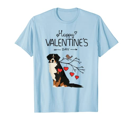 Dog Is My Valentines Day Bernese Mountain Dog T-Shirt