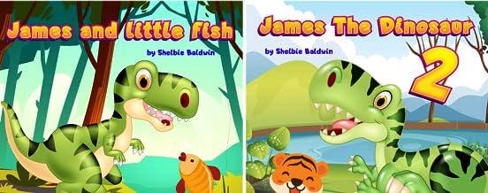 James the dinosaur (2 Book Series)
