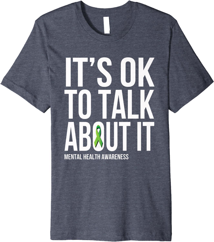 Mental Health Awareness Shirt Mental Health Gift Unisex Jersey Short Sleeve Tee It's Okay To Talk About Mental Health Shirt T-shirts Clothing valresa.com