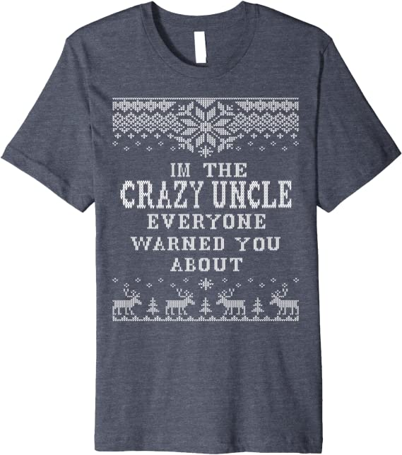 Amazon Com Ugly Christmas Sweater Family Set Crazy Uncle Clothing