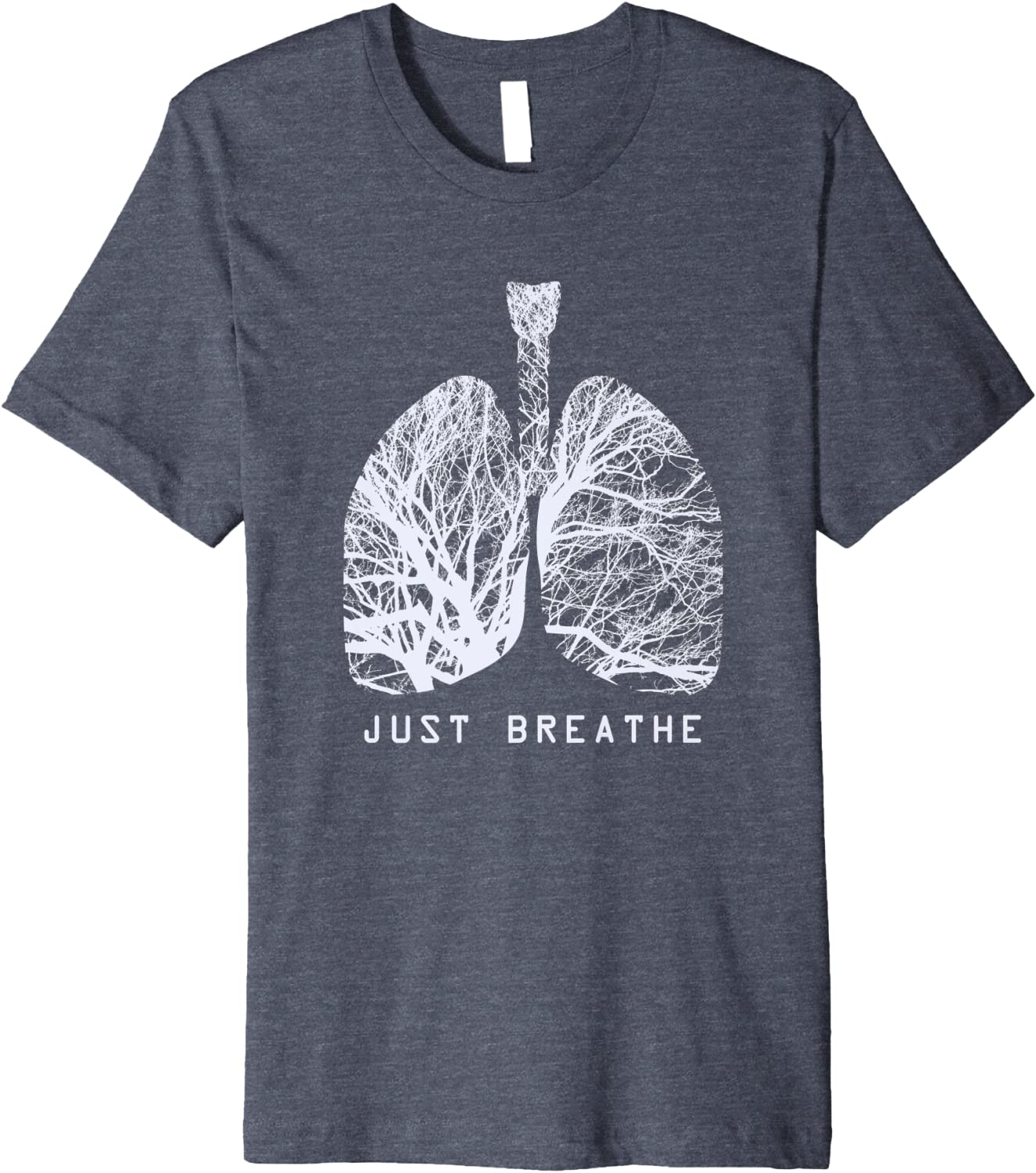 just breathe or you/'ll die sarcasticfunny motivational greeting card