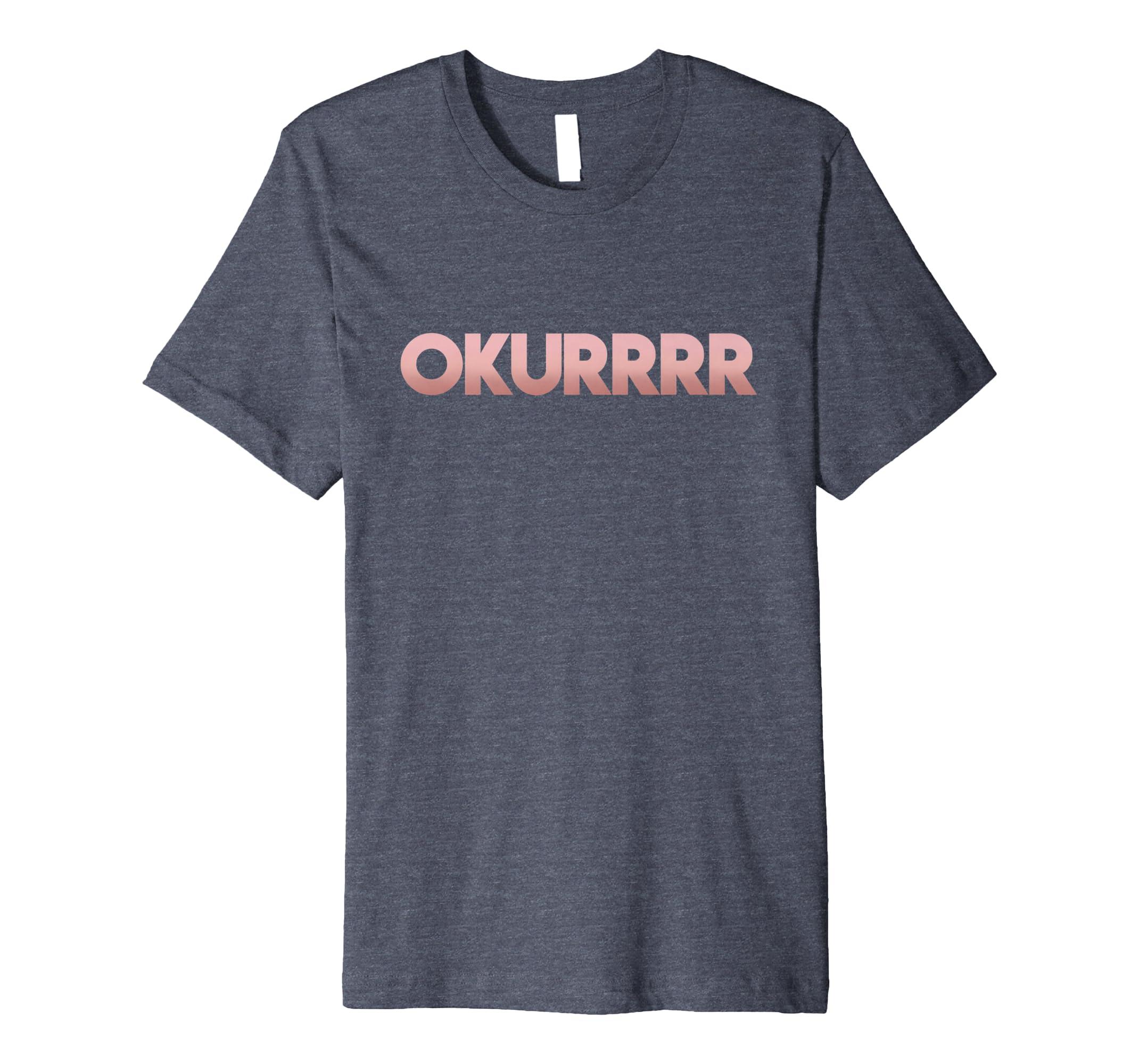 BLT Apparel: OKURRRR (Rose Gold) T-Shirt-alottee gift