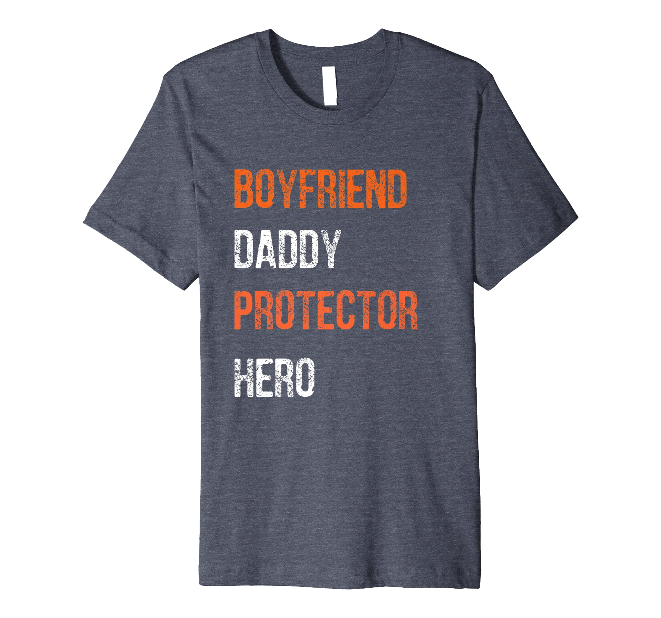 8cd5bb57 Mens Fathers Day Gift Boyfriend Daddy Hero Shirt from Girlfriend- TPT