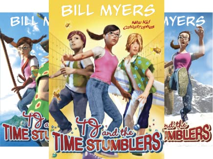 Yikes!!! (TJ and the Time Stumblers Book 6)