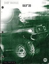 Best bombardier rally 200 atv service repair manual Reviews