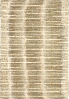 NOVATREND alfombra yute y algodón Explorer, blanco, 160 x 230 cm: Amazon.es: Hogar