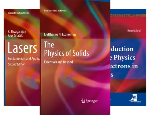 Graduate Texts in Physics (50 Book Series)