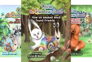Kevin the Rainbow Snail (3 Book Series)