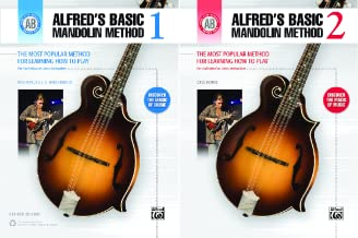 Alfred's Basic Mandolin Library (2 Book Series)