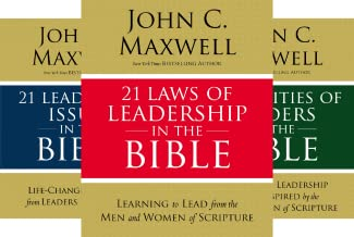 21 Laws of Leadership in the Bible Series (3 Book Series)