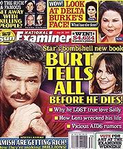 Burt Reynolds and Sally Field, Delta Burke (Designing Women), Dolly Parton - July 28, 2014 National Examiner Magazine
