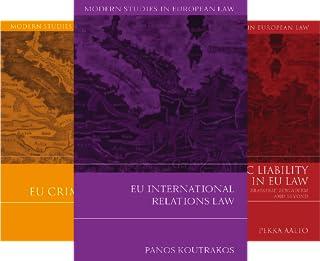 Modern Studies in European Law (50 Book Series)