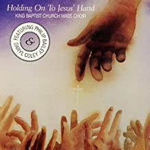 holding hands with jesus