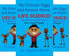 My Friend Ziggy Knows Science Book (4 Book Series)